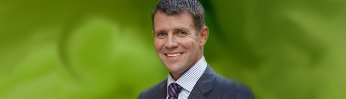 New South Wales Premier Mike Baird