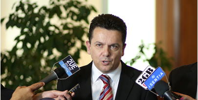 Nick Xenophon, leader of the new political party the Nick Xenophon Team (NXT)