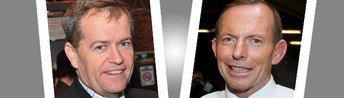 Bill Shorten and Tony Abbott comparison