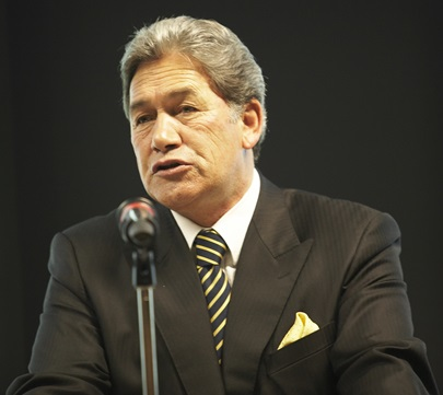 Winston Peters - Leader, NZ First