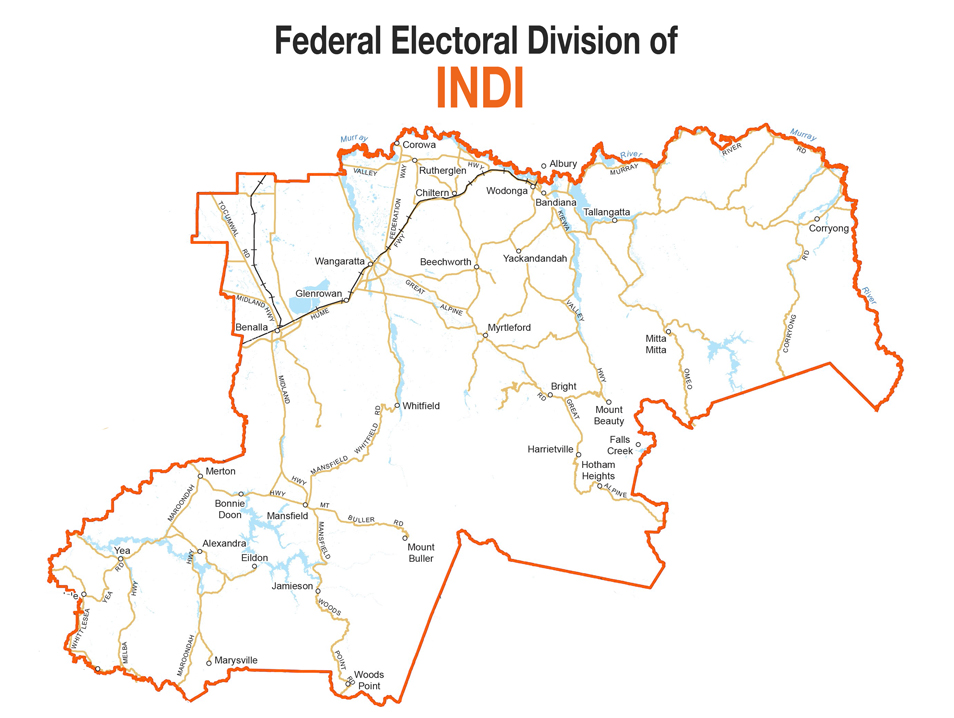 Federal Electorate of Indi (Victoria)